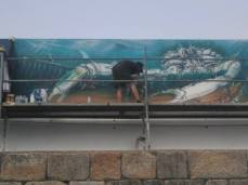 II Certame de Pintura Mural de Burela / foto Concello de Burela