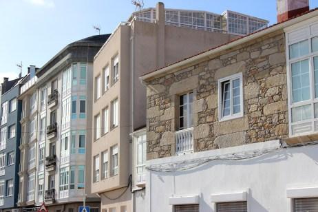 Casa na praza Ramón Juega e ensanche / foto HdG