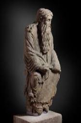 Abraham na exposición do Museo do Prado / foto cultura.gal
