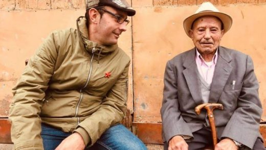 O Ribeira de Louzarela, un bardo de 93 anos