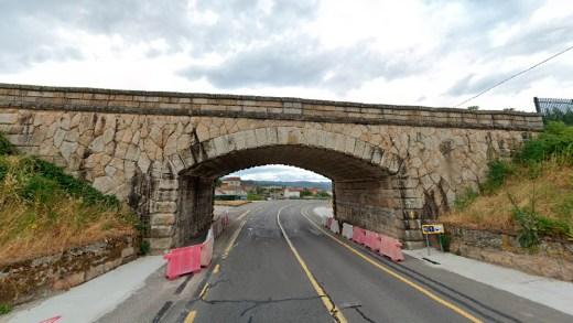 Desaparecen tres pontes rexionalistas en Ourense polas obras do AVE