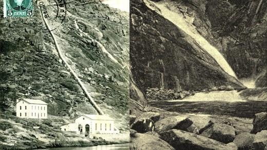 Un xornal da Costa da Morte recolle as primeiras imaxes e textos coñecidos do salto do Ézaro