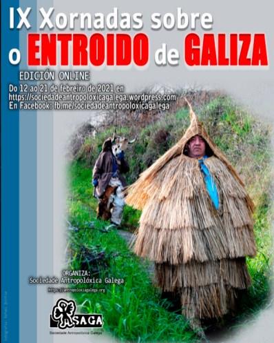 Cartaz das xornadas / Sociedade Antropolóxica Galega