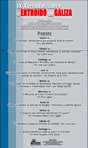 Programa / Sociedade Antropolóxica Galega