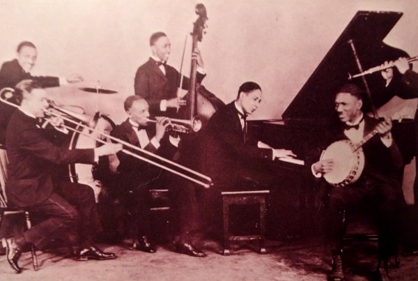 Jelly Roll Morton y su banda de Blues