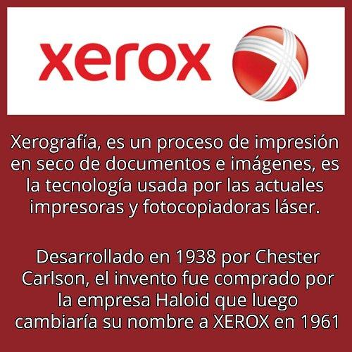 Xerox y el FAX moderno.