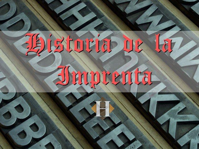 Historia de la Imprenta - la máquina que revolucionó el mundo.