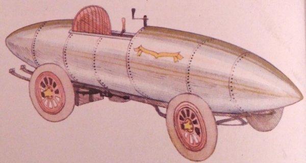 Jenatzy auto eléctrico 100 km/h
