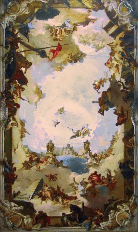 Las pinturas a gran altura de Tiepolo  Historia de Pinceles