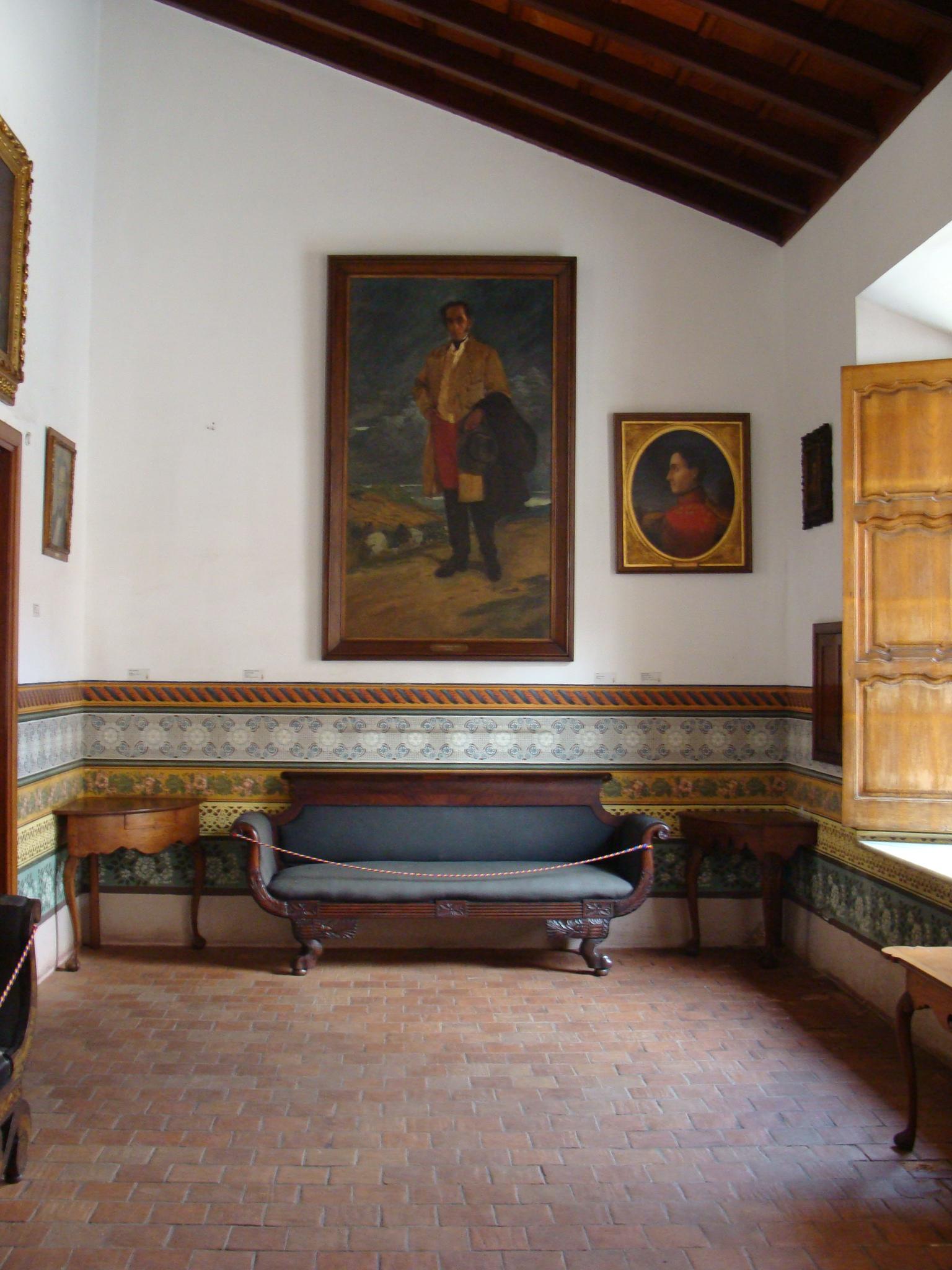 Casa natal de Simon Bolivar  Historia de Venezuela Visual