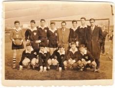 1960. 3 de Marzo. Equipo Colexio Santa Mariña