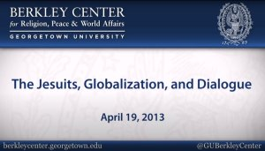 Read more about the article The Jesuits, Globalization, and Dialogue