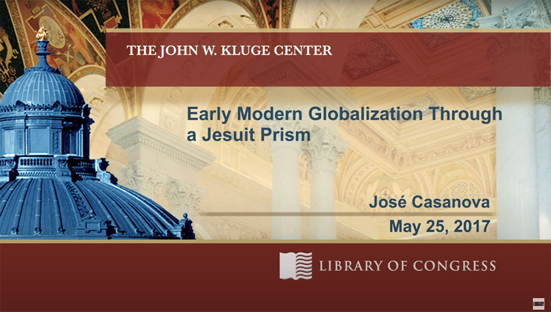 You are currently viewing Early Modern Globalization Through a Jesuit Prism