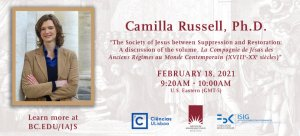 Read more about the article Camilla Russell: The Society of Jesus between Suppression and Restoration