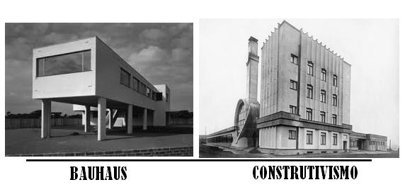 bauhaus e construtivismo