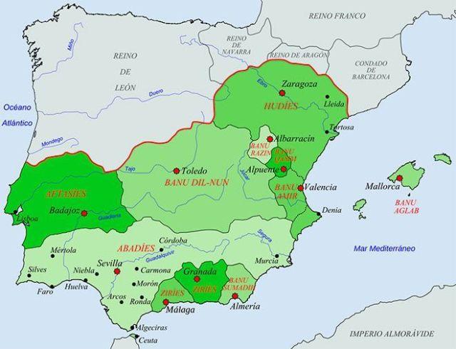 reinos taifas al-andalus