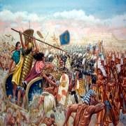 La batalla de Qadesh, la lucha entre el faraón Ramsés II y el Imperio Hitita