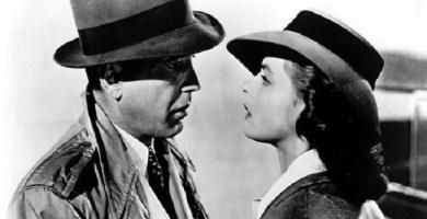 "Humphrey Bogart e Ingrid Bergman en ""Casablanca"""