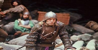 """Klaus Kinski, caracterizado como Lope de Aguirre, protagonista de """"Aguirre la cólera de Dios"""""""