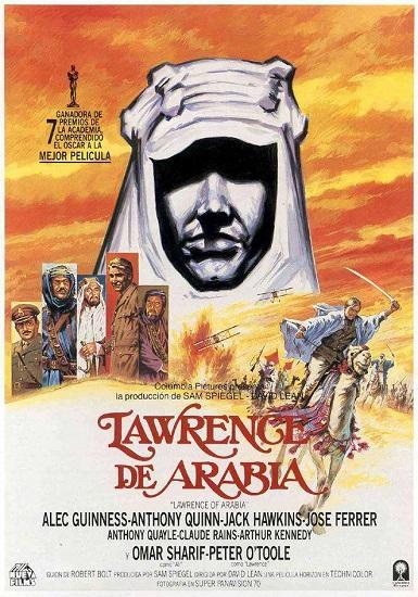 Cartel de la película Lawrence de Arabia