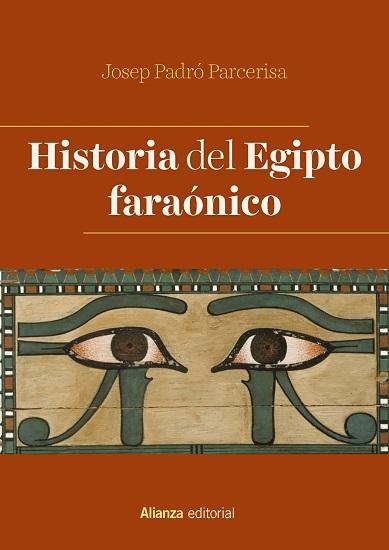 "Portada de la obra ""Historia del Egipto faraónico"", de Josep Padró"