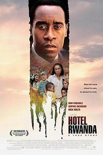 Póster de la película Hotel Rwanda