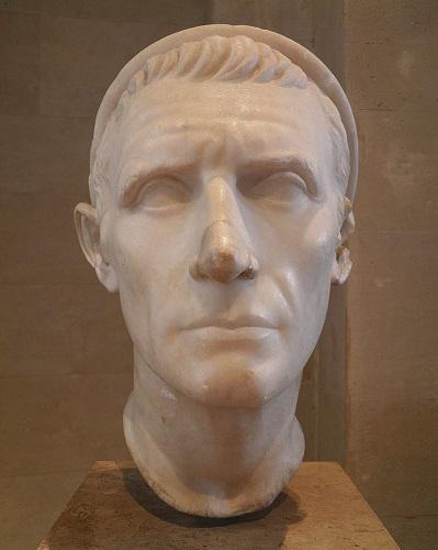 Busto del rey Antíoco III Megas conservado en el Museo del Louvre