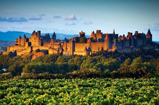 Ciudadela de Carcasona, uno de los baluartes de los cátaros en Francia