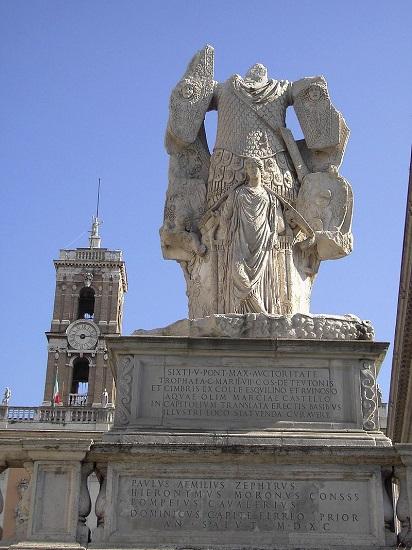 Monumento a la victoria de Cayo Mario sobre los cimbrios