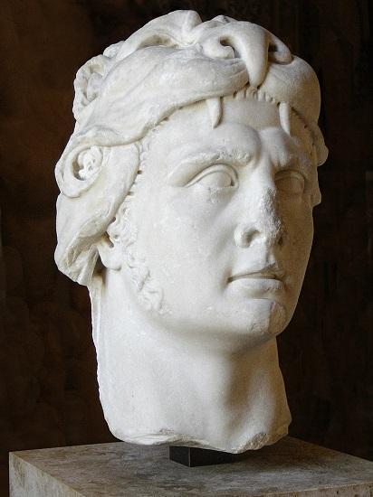 Busto del rey Mitrídates VI, instigador de las Vísperas Asiáticas