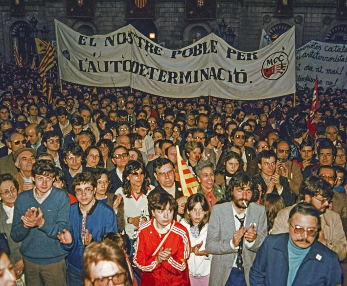 Història de Catalunya. Sant Jordi 1982. La Crida