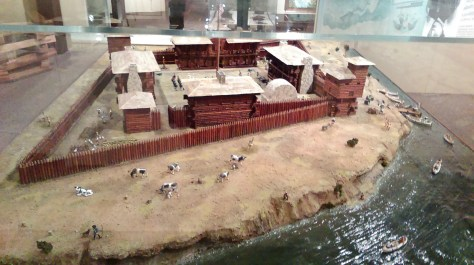 A Modle of Fort Dearborn