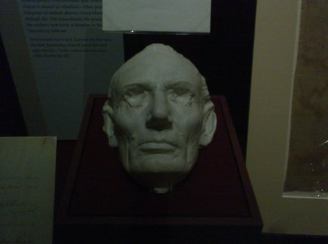 Lincoln Death Mask