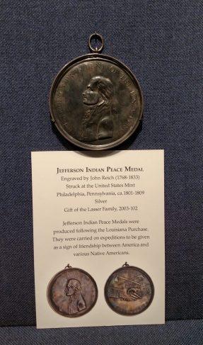 Jefferson Indian Peace Medal