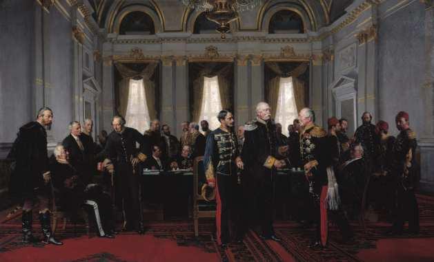 Kongress von Berlin, 13. Juli 1878, von Anton von Werner