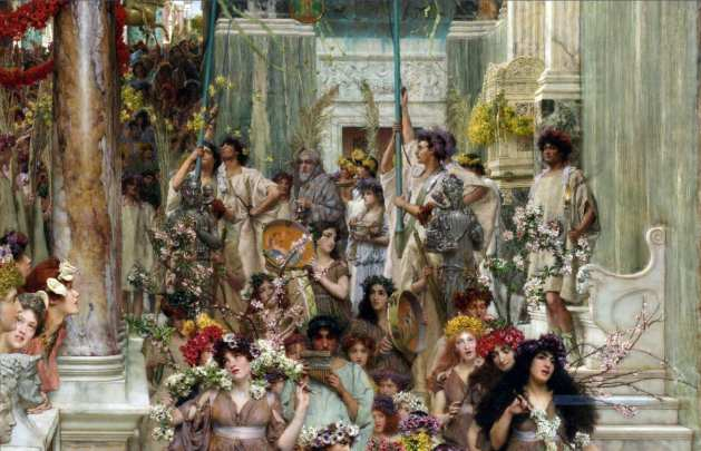 Spring by Sir Lawrence Alma Tadema