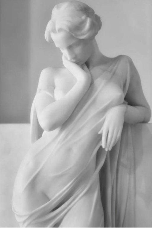 """""""La Meditazione"""" von Luigi Sechhi"""