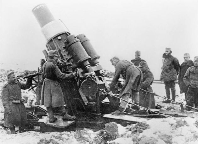 Skoda 305 mm Howitzer