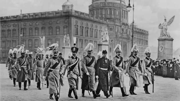 Wilhelm II und seine Söhne