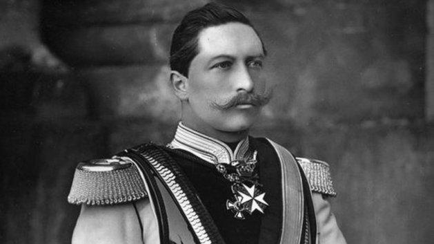 Wilhelm im Alter von 21