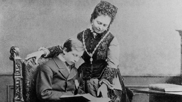 Wilhelm und seine Mutter