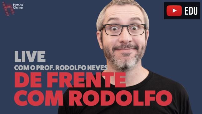 DE FRENTE COM O RODOLFO EP. 01