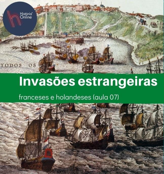 invasões estrangeiras