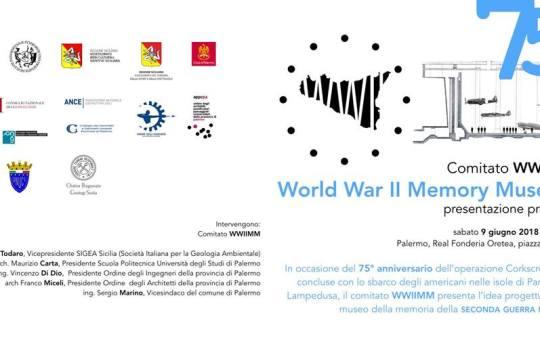 Sabato 9 giugno 2018: Presentazione WWIIMM