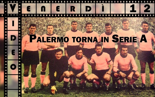Il Palermo torna in serie A – video