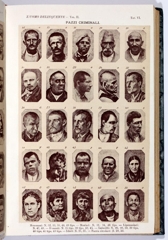 Cesare Lombroso, L'uomo delinquente, 1876