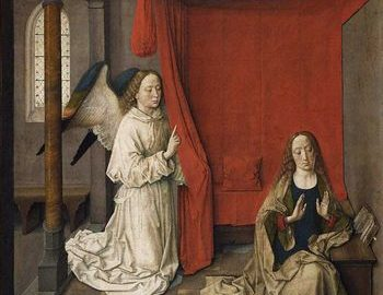 Bil Viola, Dirk Bouts, Anunciation