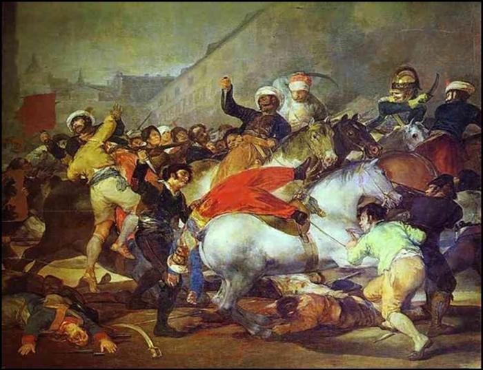 Carga de los mamelucos (Goya)