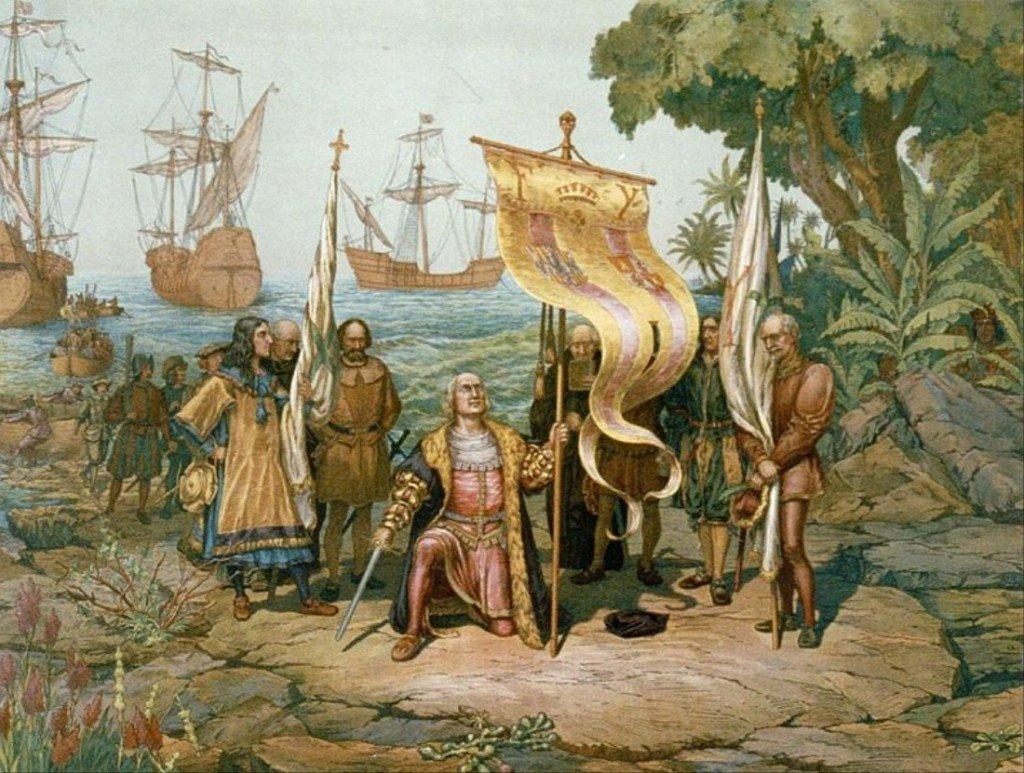 Todos los que llegaron a América antes que Colón