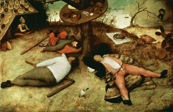 The Land of Cockaigne - Pieter Bruegel